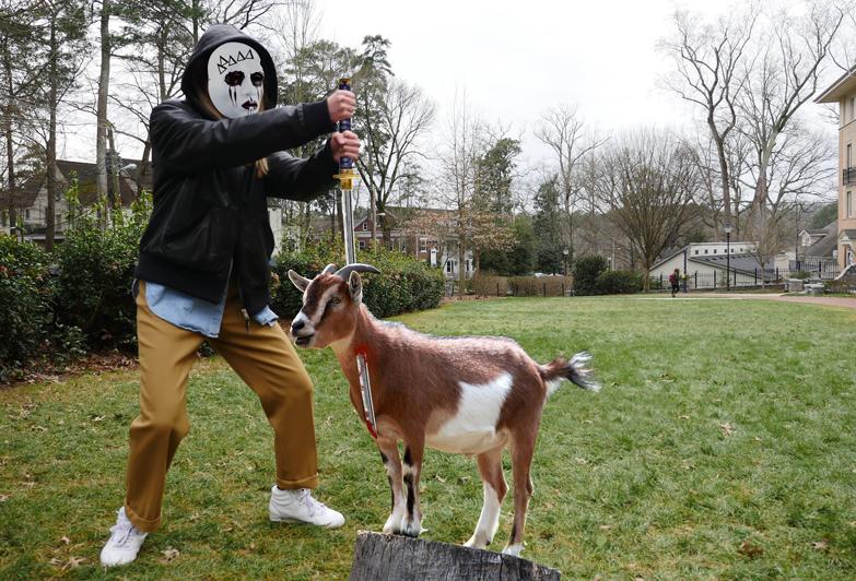 goat massacre art